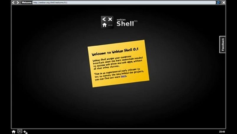 Mozilla's Webian Shell interface will cloak your OS in a browser (video)