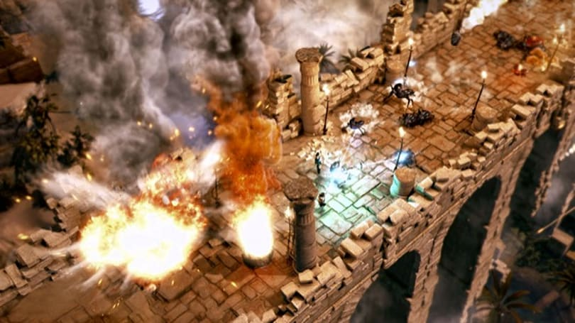 Lara Croft and the Temple of Osiris dev diary talks puzzles