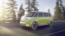 VW Bulli Konzeptauto: Selbstfahrend und voll grün