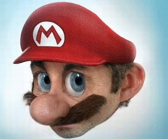 Real Mario just got a lot scarier