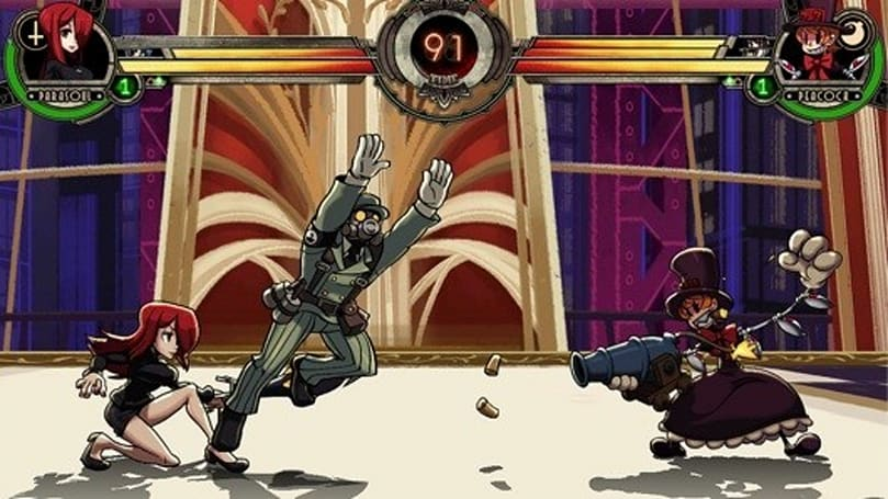 Skullgirls boppin' to PC digital distribution later this year