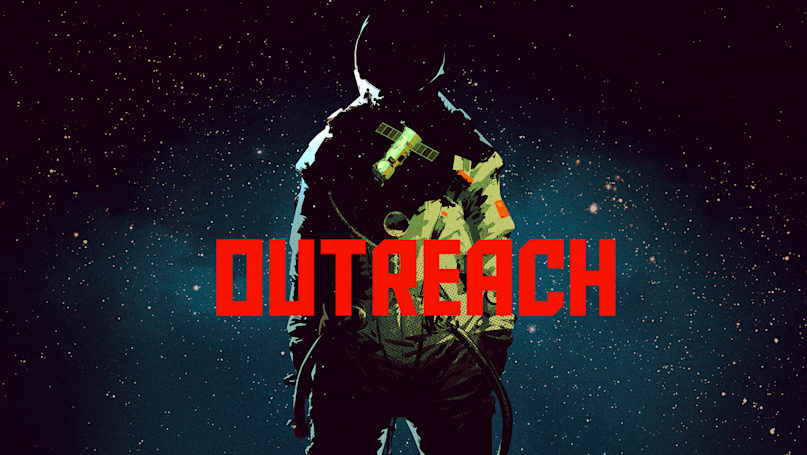 'Outreach' is a space adventure game set in the Cold War