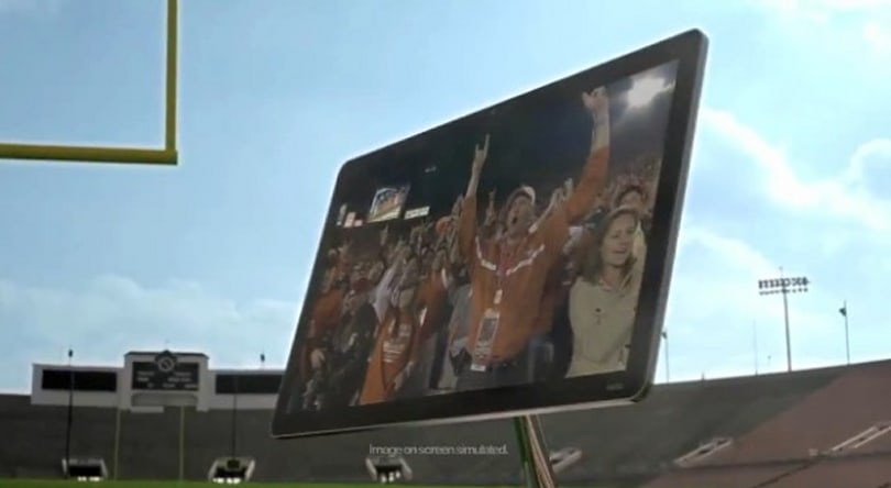 Vizio flashes a sleek new HDTV design in Rose Bowl ad, we'll see more at CES (video)