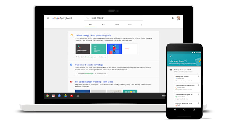 Google brings 'intelligent search' to business users