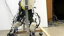 Robotic legs simulate our neural system, lurch along in the most human-like way so far