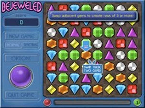 PopCap gives Bejeweled away free for Mother's Day
