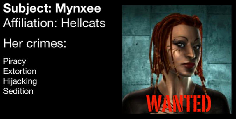Outlaws of EVE Online: Mynxee