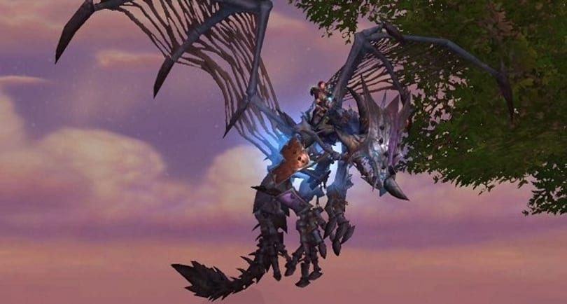 Patch 5.2: No flying mounts in the new zone