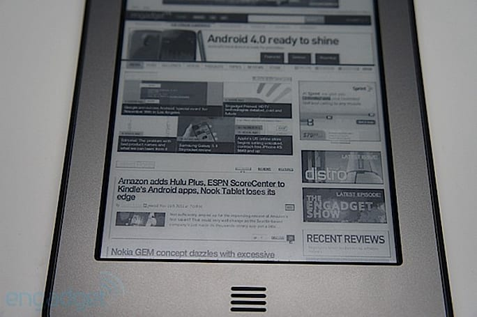 Kindle Touch update adds Europe-friendly languages, landscape mode