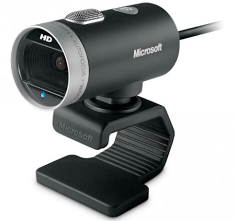 Microsoft's LifeCam Cinema HD webcam lets you film those YouTube confessionals in 720p