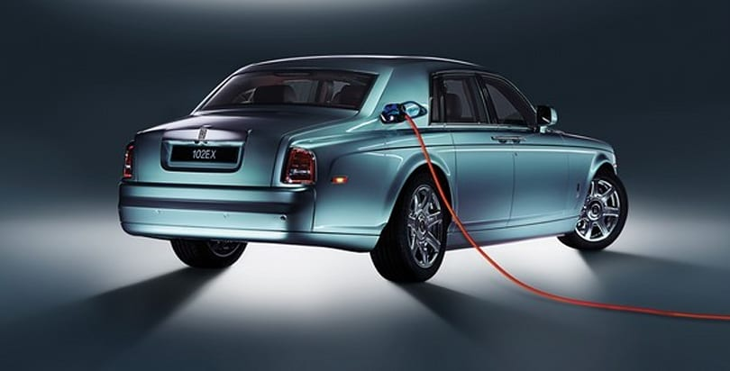 Rolls Royce unveils 102EX, the all-electric Phantom (video)