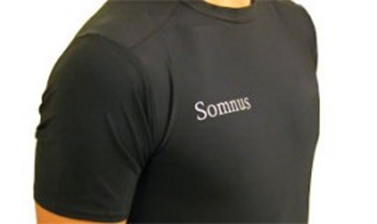 Somnus Sleep Shirt watches while you sleep, won't be creepy about it (video)