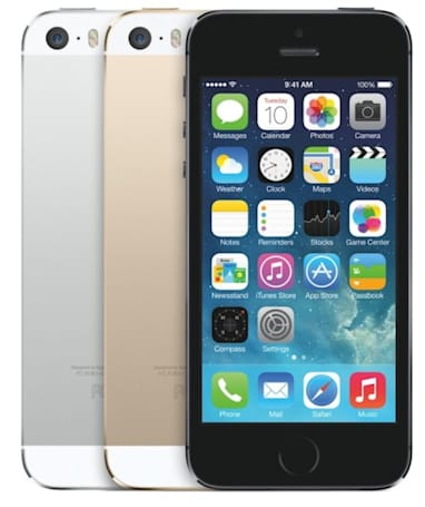 iPhone 5s reportedly outselling the iPhone 5c by two to one