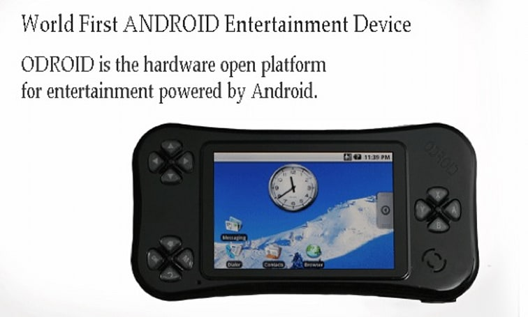 Android-based 'ODROID' gaming handheld looks better than it sounds