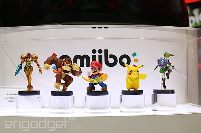 People love Nintendo's plastic Amiibo figures: 'nearly' 2.6 million sold