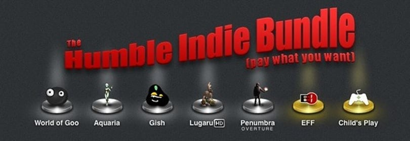 Humble Indie Bundle: Pay what you want for World of Goo and four others