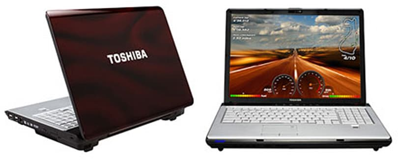 Toshiba rolls out SLI-equipped Satellite X205 laptops