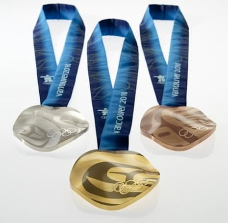 2010 Olympic medals include material from recycled circuit boards
