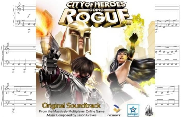Jukebox Heroes: City of Heroes' soundtrack