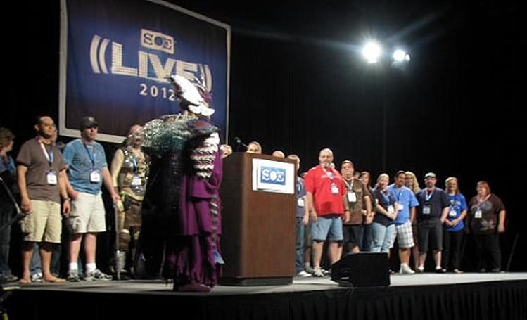 SOE Live 2012: Friday keynote highlights DCUO, EQ, and EQII