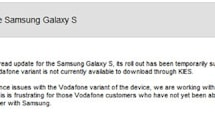 Samsung Galaxy S Gingerbread update pulled 'by Google,' needs a little more work