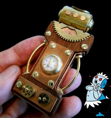 A steampunk USB drive that could clean H. G. Wells' house