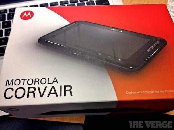 Motorola Corvair 6-inch Android 2.3 tablet outed, destined for the home automation set?