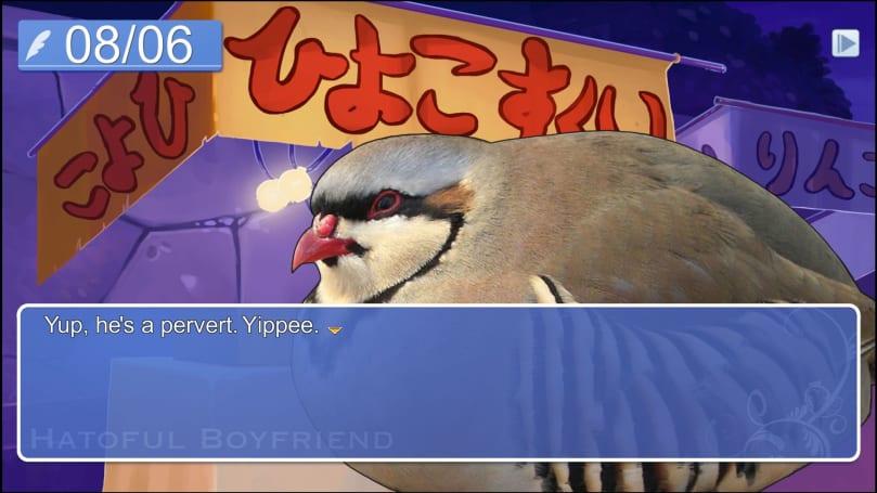 Avian dating sim 'Hatoful Boyfriend' makes its mobile debut