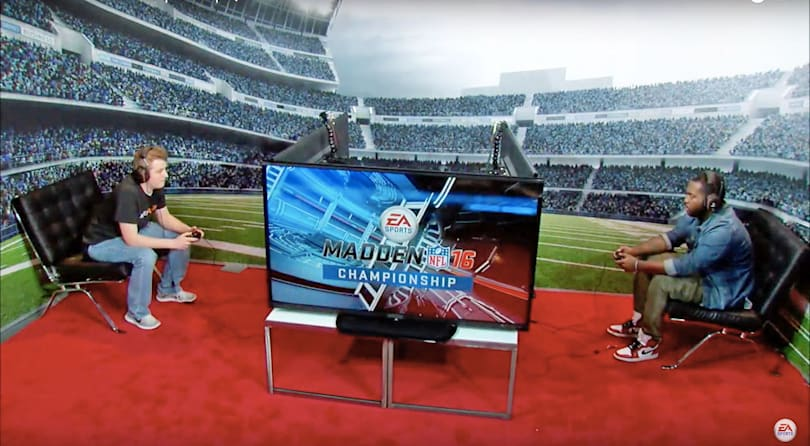 Madden NFL 16 championships will be broadcast live on ESPN2