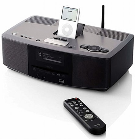 Denon unveils new S-52 iPod dock, AT series speakers