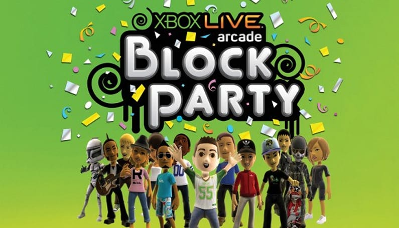 Stay for the entire XBLA Block Party and receive parting gifts
