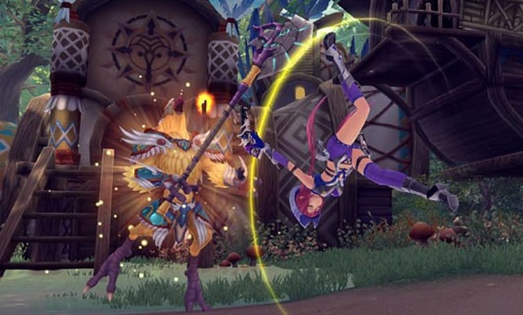 Exclusive: Aura Kingdom's final reveal showcases ranged classes