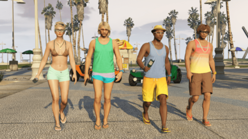 Become a Beach Bum in Grand Theft Auto Online today