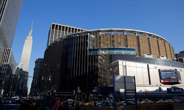 Credit card readers were hacked at MSG for nearly a year