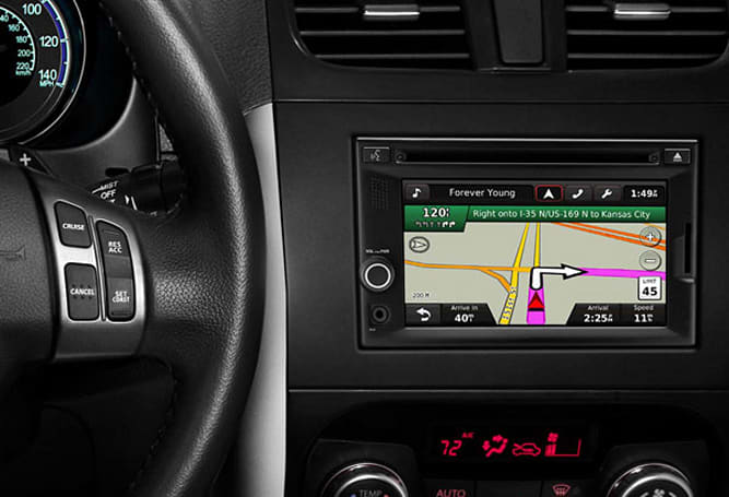 Garmin partners with Suzuki for company's first in-dash infotainment system
