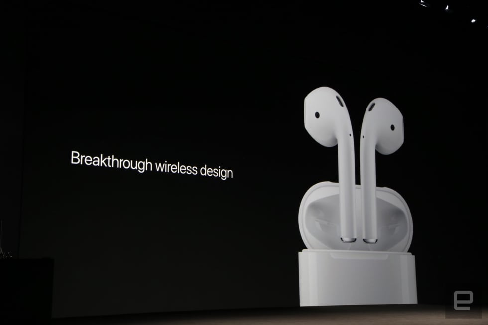 Apple S Airpods Are Smart Wireless Earbuds With A New W1 Chip