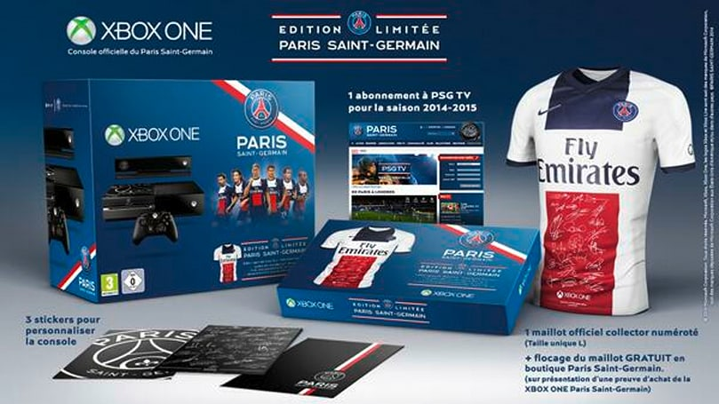 Xbox France goes soccer crazy with Paris Saint-Germain Xbox One bundle