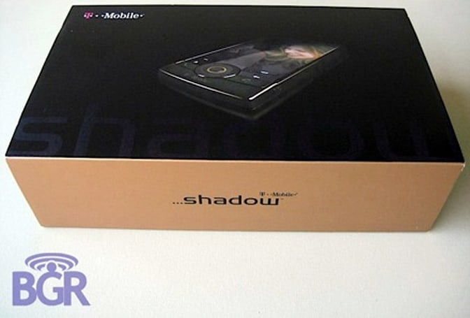 T-Mobile Shadow unboxed, still not released