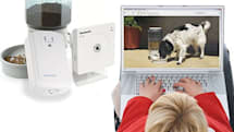Remote Pet Feeder feeds your pet, encourages your animal voyeurism habit