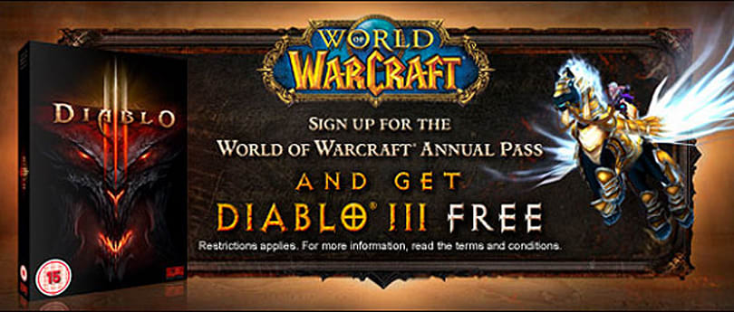 Diablo III releases May 15, free Diablo III Annual Pass deal ends May 1