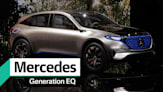 Mercedes-Benz Generation EQ electric vehicle concept