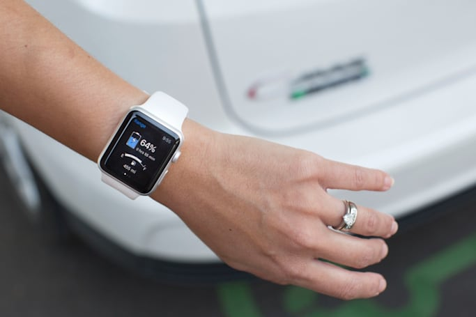 Ford's smartwatch apps let drivers unlock their electric car