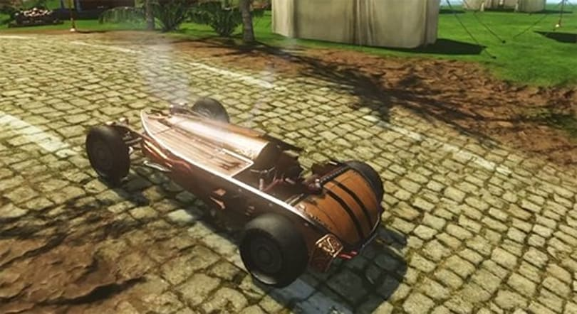 Yes, that is a car in ArcheAge