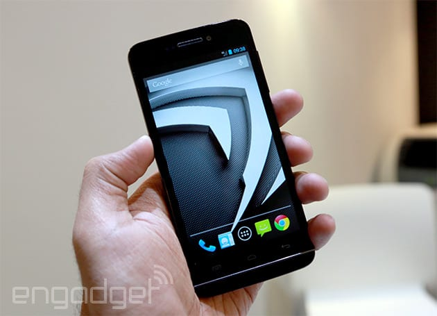 The first available Tegra 4i smartphone will come from French company Wiko (hands-on)