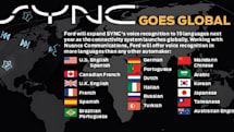 Ford SYNC goes global, 2012 Focus will accept commands in 19 languages
