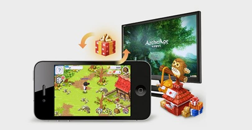 ArcheVille mobile game hooks into ArcheAge somehow