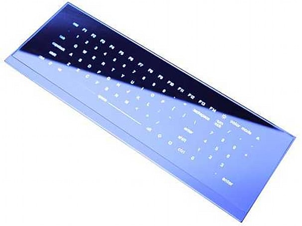 Cool Leaf keyboard's shiny, buttonless future gets release date