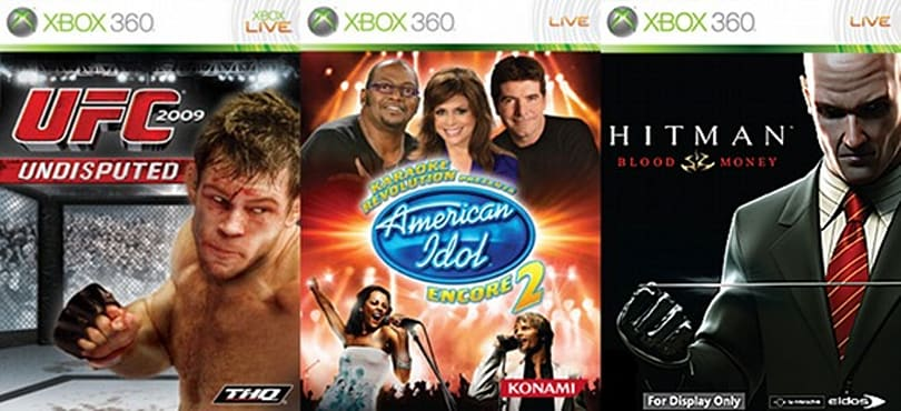 Hitman, UFC, American Idol added to Games on Demand