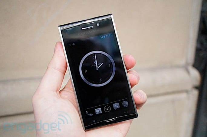 Lumigon T2 hands-on at MWC 2012 (video)