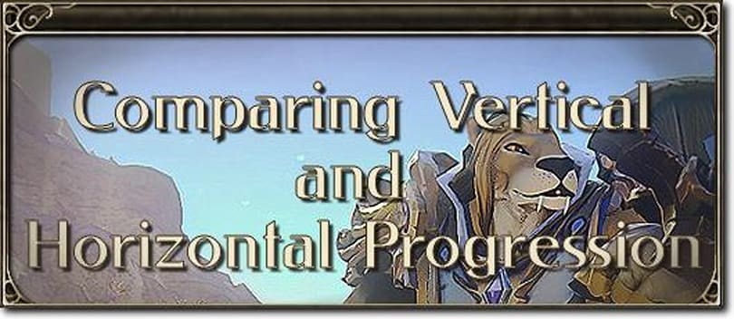 MMO Mechanics: Comparing vertical and horizontal progression